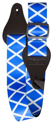TGI Saltire Scottish Guitar Strap